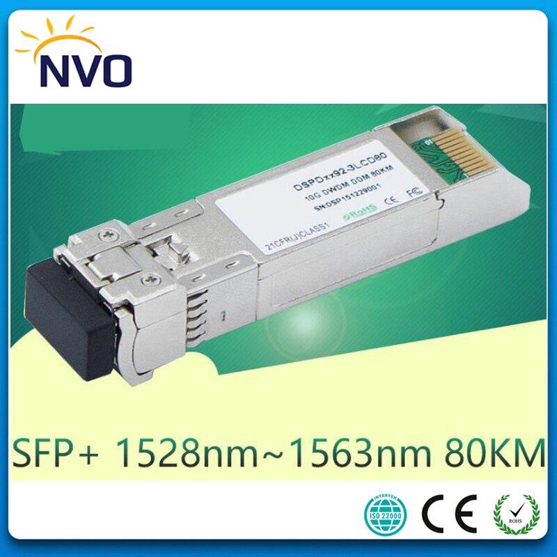 Free Shipping  10G DWDM-SFP+-ZR,10G Dual Fiber,LC,80KM,ITU Grid 17~61ch DWDM SFP+ Fiber Optical Transceiver Module With DDMFree Shipping  10G DWDM-SFP+-ZR,10G Dual Fiber,LC,80KM,ITU Grid 17~61ch DWDM SFP+ Fiber Optical Transceiver Module With DDM