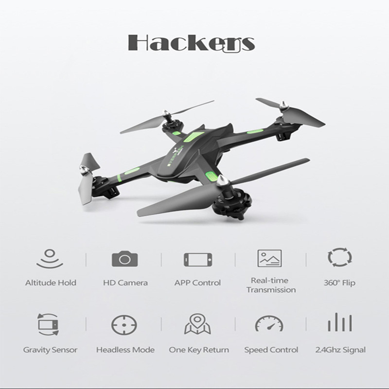 In Stock!Upgrate New Dron Quadcopter FPV Selfie Drone With Transmission Camera HD 720P 2MP APP Remote Control RC Helicopter Toys цена
