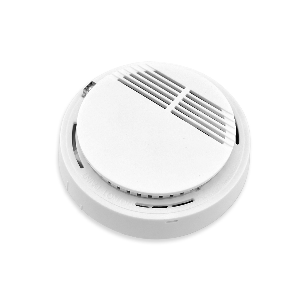 New 433mhz Sensor Sensitive Photoelectric Home Security System Cordless Wireless Smoke Detector Fire Alarm for Home Protection hot home security photoelectric cordless smoke detector fire sensor alarm white