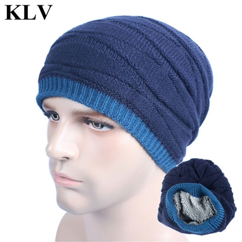 Fashion Unisex Fleece Bonnet Beanies Knitted Winter Skullies Hat Women Men Beanie Warm Baggy Cap Casual Wool Gorros Touca Oct13 brand skullies winter hats for men bonnet beanies knitted winter hat caps beanie warm baggy cap gorros touca hat 2016 kc010