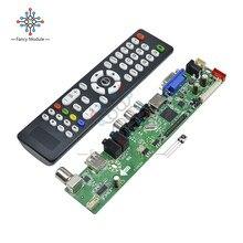 Новый универсальный ЖК-контроллер разрешение ТВ материнская плата VGA/HDMI/AV/tv/USB HDMI интерфейс драйвер платы