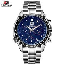 Мода мужские Часы шесть-контактный Многофункциональный Мужские Часы автоматические механические часы Водонепроницаемый Наручные Часы Мужской Таблицы Relojes