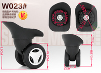 Trolley Case Wheel Caster Wheel Suitcase Travel Luggage Accessories Universal Wheel Wholesale Maintenance Password Suitcase W023