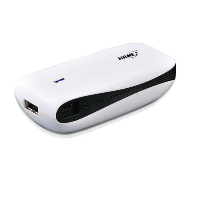 Original Hame 3 in 1 MPR-A1 3G Wireless Router + Mobile power supply , MINI Wireless Router,3G WIFI 5200mAh for Travel Hotel