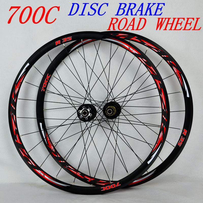PASAK 700C Disc Brake Road Bike Wheelset Cross Country Bicycle Wheel V/C Brake 29inch ultralight 1700g Rim 30mm 700cc wheels disc brake wheels road bicycle v c brake 30mm alloy rim 29inch cross country road bike silver frame light wheel