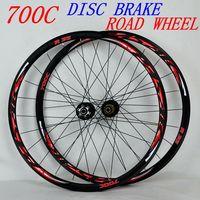 PASAK 700C Disc Brake Road Bike Wheelset Cross Country Bicycle Wheel V/C Brake 29inch ultralight 1700g Rim 30mm
