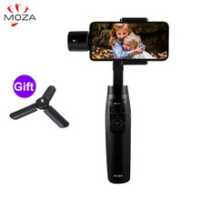 MOZA Mini Mi Mini S 3-Axis Handheld Gimbal Stabilizer for iPhone 8 Plus Gopro PK Zhiyun Smooth 4 DJI Osmo mobile 2 Osmo Pocket(China)