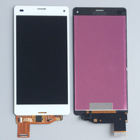 White Touch LCD Display Assembly For Sony Xperia Z3 Mini Compact D5803 D5833