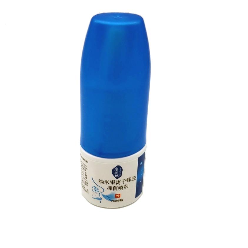 US $2 62 55% OFF|Nano Silver Ion Propolis Antibacterial Spray Nasal Cure  Rhinitis Sinusitis Nose Spray Bottle Anti snore Apparatus Health Care-in