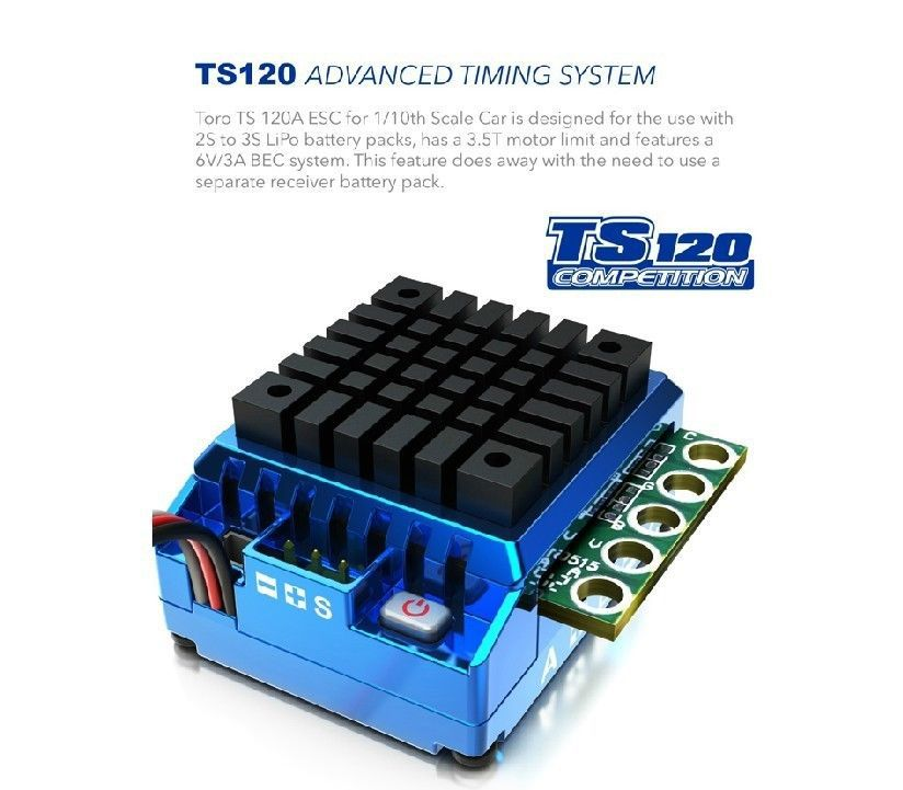 SkyRC TORO TS 120A ESC Advanced Timing Sytem for 1/10th Scale Car disney mickey mouse kids birthday party decoration set party supplies cup plate banner hat straw loot bag fork