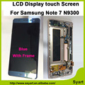 "High quality N9300 Full LCD 5.7"" lcd Display Touch Screen Digitizer + Home button + Frame Assembly For Samsung Galaxy Note 7"