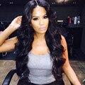 Новые Синтетические Парики для Чернокожих Женщин Длинные Черный Афро-Американских Дешевые Волос для Женщин Горячей Продажи