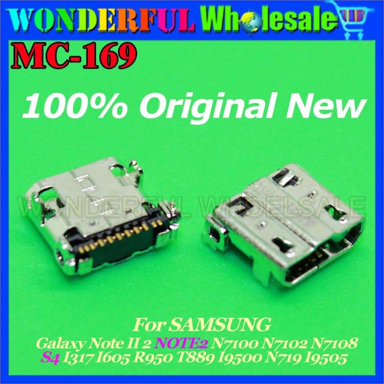 MICOR USB JACK CHARGING SOCKET For SAMSUNG Galaxy NOTE2 N7100 N7102 N7108 S4 I317 I605 R950 T889 I9500 N719 I9505