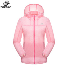 Dropshipping 2016 new women Hooded skin coat Sun protection clothing UV Resistance Summer thin Outerwear Causal beach jacket