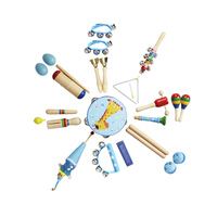 23Pcs Education Musical Instruments Toys Set for Children Playing Learning Music Interest Develpoment Kits