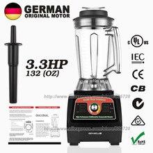 BPA-Free G7400 3.3HP 2800 Вт Профессиональная ледяная бритвенная машинка высокоскоростная медленная соковыжималка черная 3.9л 57000-пиковая