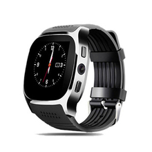 Aaliyah  T8 Bluetooth Smart Watch Supports SIM TF Card GPS Positioning Smartwatch with 0.3MP Camera Android Sports