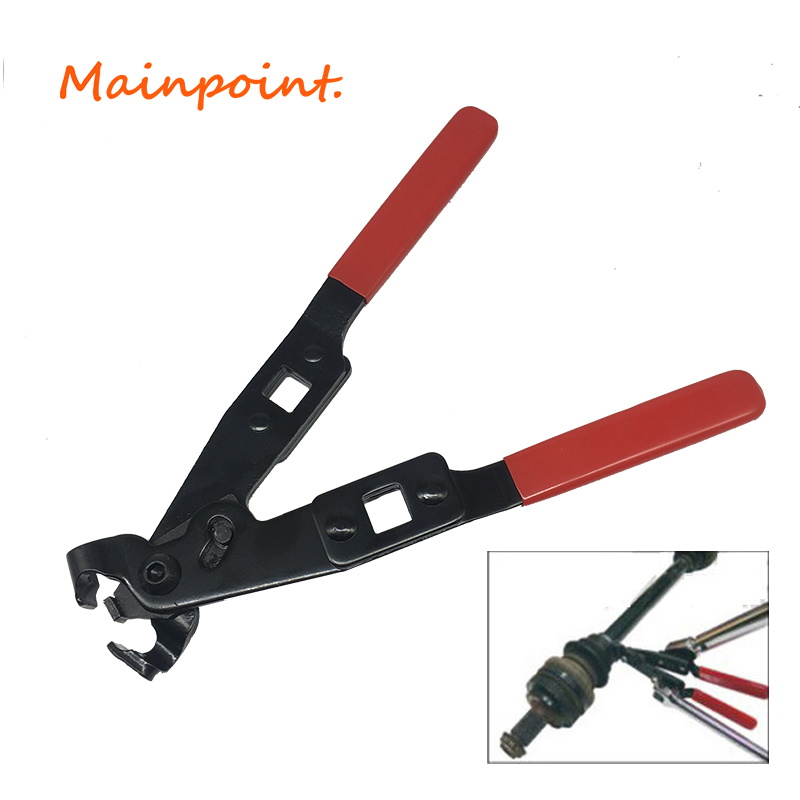 Red&Black CV Joint Axle Boot Clamp Pliers Tool Crimp-Ear Type (Extension) LX83 Extension For All Ear Type Clamps Hand Tools цена 2017