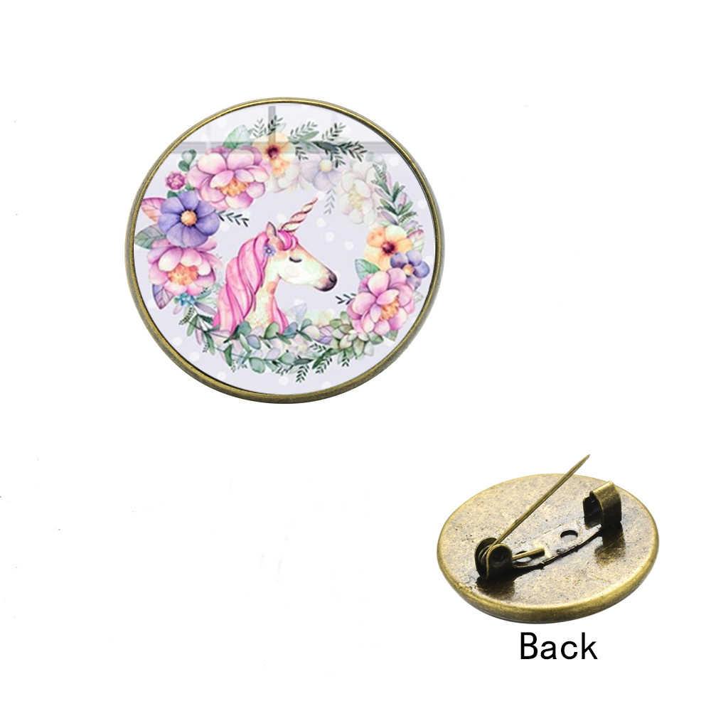 SONGDA милая розовая брошь в виде единорога булавка коллекция икона куртки рюкзак мультфильм животных Ювелирные изделия стильные булавки для воротника кнопки безделушки
