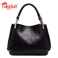 Luxury Brand Bag Women Michaelied Bag Korss Handbag PU Leather Crocodile Pattern Necessaries Shoulder Bag Women