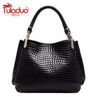 Luxury Brand Bag Women Michaelied Bag Korss Handbag PU Leather Crocodile Pattern Necessaries Shoulder Bag Women