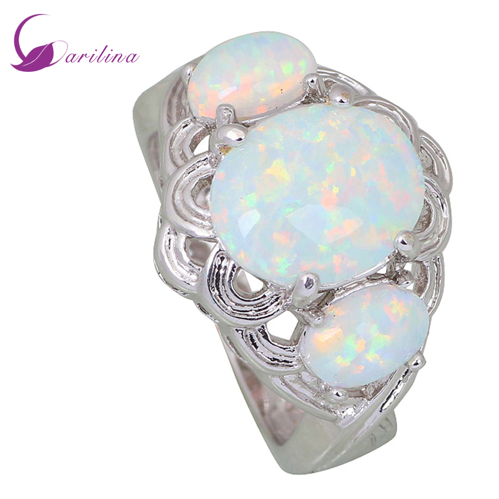 New /'Y/' 925 Sterling Silver 20/'mm Yellow Fire Opal Round Flower Band Ring Size 8