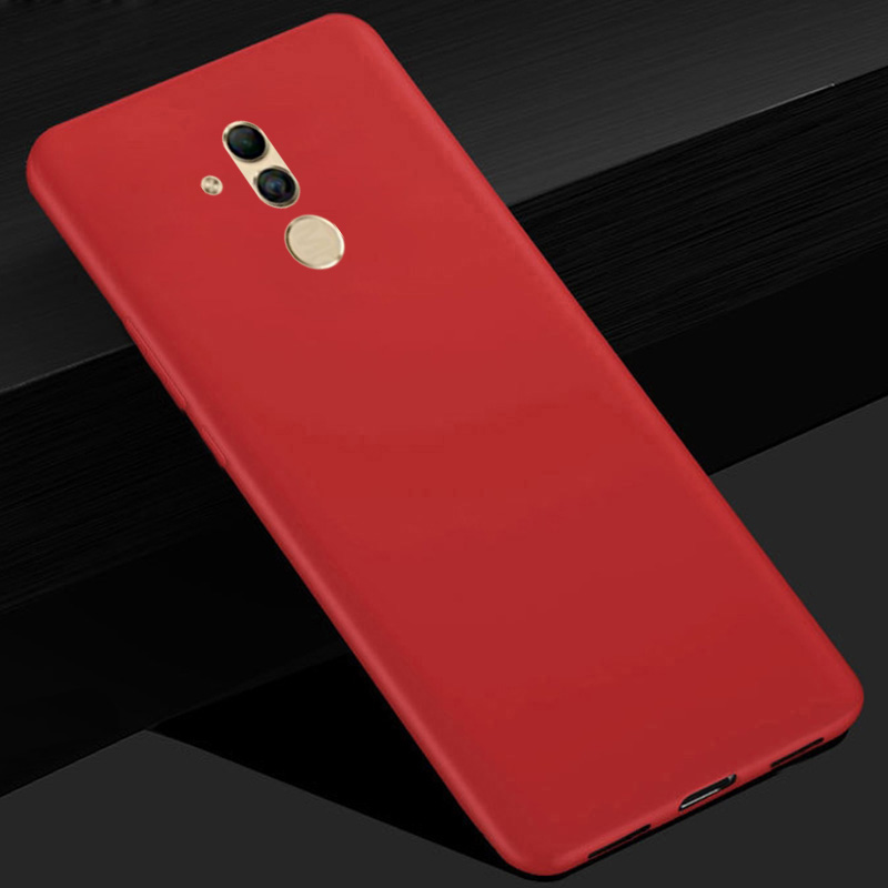 Candy Color Soft Silicon Cover For Huawei Mate 20 Lite 6.3 Inch