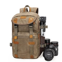 M290 New Batik Canvas Camera Backpack Large Capacity Outdoor Waterproof photography Bag for Canon Nikon Sony Digital Camera Case