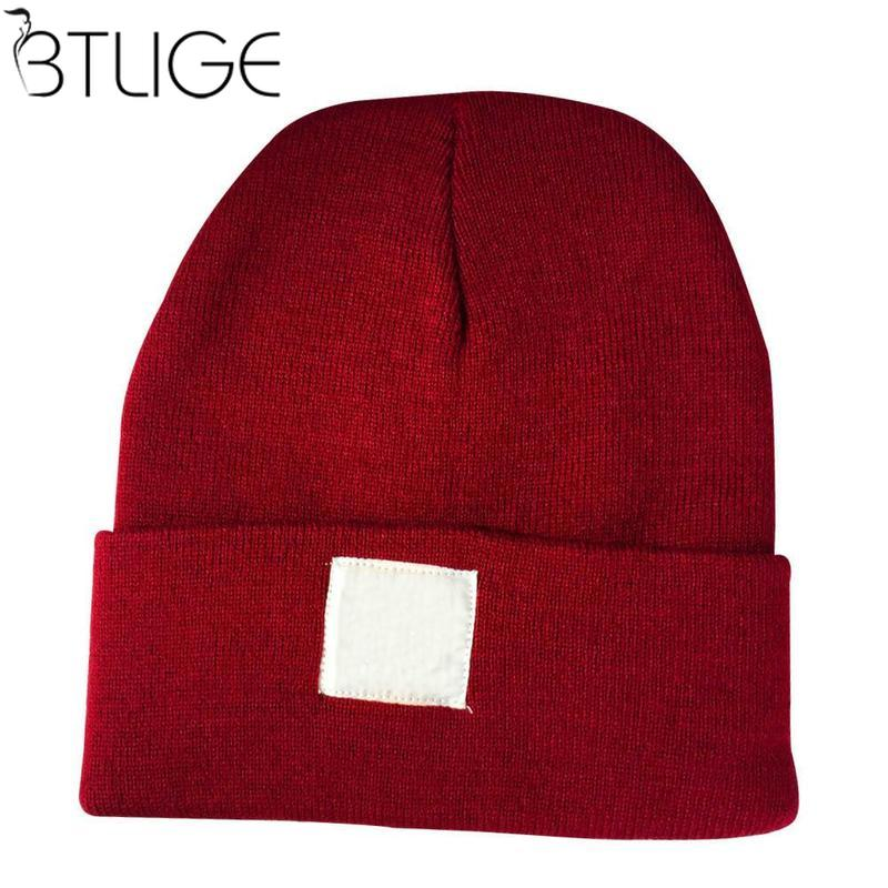 Men's Women's Fashion Baggy Beanie Winter Hat Warm Wool Ski Knitted Slouch Hats Acrylic Hip Hop Wool Knitted Hat Baggy Ski Caps