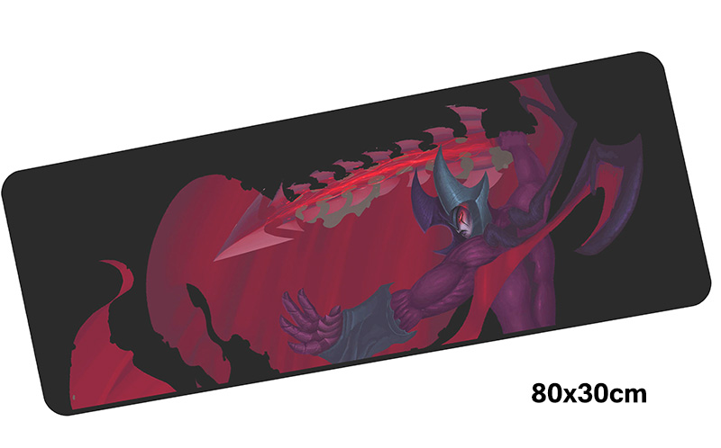 aatrox mousepad gamer 800x300X3MM gaming mouse pad large Colourful notebook pc accessories laptop padmouse ergonomic mat
