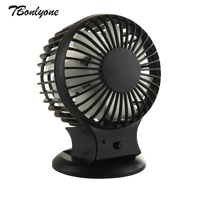 Tbonlyone 800Mah 2 Speed Noiseless Desktop  For Students Office Outdoor Travel Cooling Usb Battery Rechargeable Table Mini Fan купить