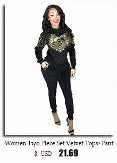 f82d0c3ef7c HAOYUAN Plus Size Casual 2 Piece Set Women Autumn New Outfits Zip ...