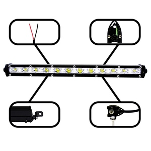Image 5 - 13 Inch 36W  Led Light Bar Modified Off road Lights Roof Light Bar Combo Flood Spot Beam Work Fog Headlights Spotlights 6000K