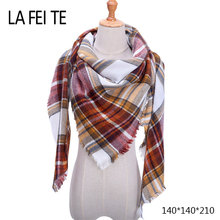 Winter Cashmere Scarf Women Men Neck Shawl Hijab Pashimina Male Female Stoles Plaid Ponchos Bandana Women Scarfs For Ladies 2018