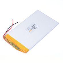 three.7V 5065115 3900mAh Polymer rechargeable Lithium Li Battery For GPS ipod PSP Pill PC Mobiles Backup Energy free transport
