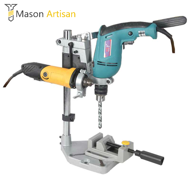 Dremel Bohrmaschine Stehen Power Werkzeuge Zubehör Tischbohrmaschine Stehen DIY Werkzeug Grundrahmen Bohrerhalter Bohrfutter