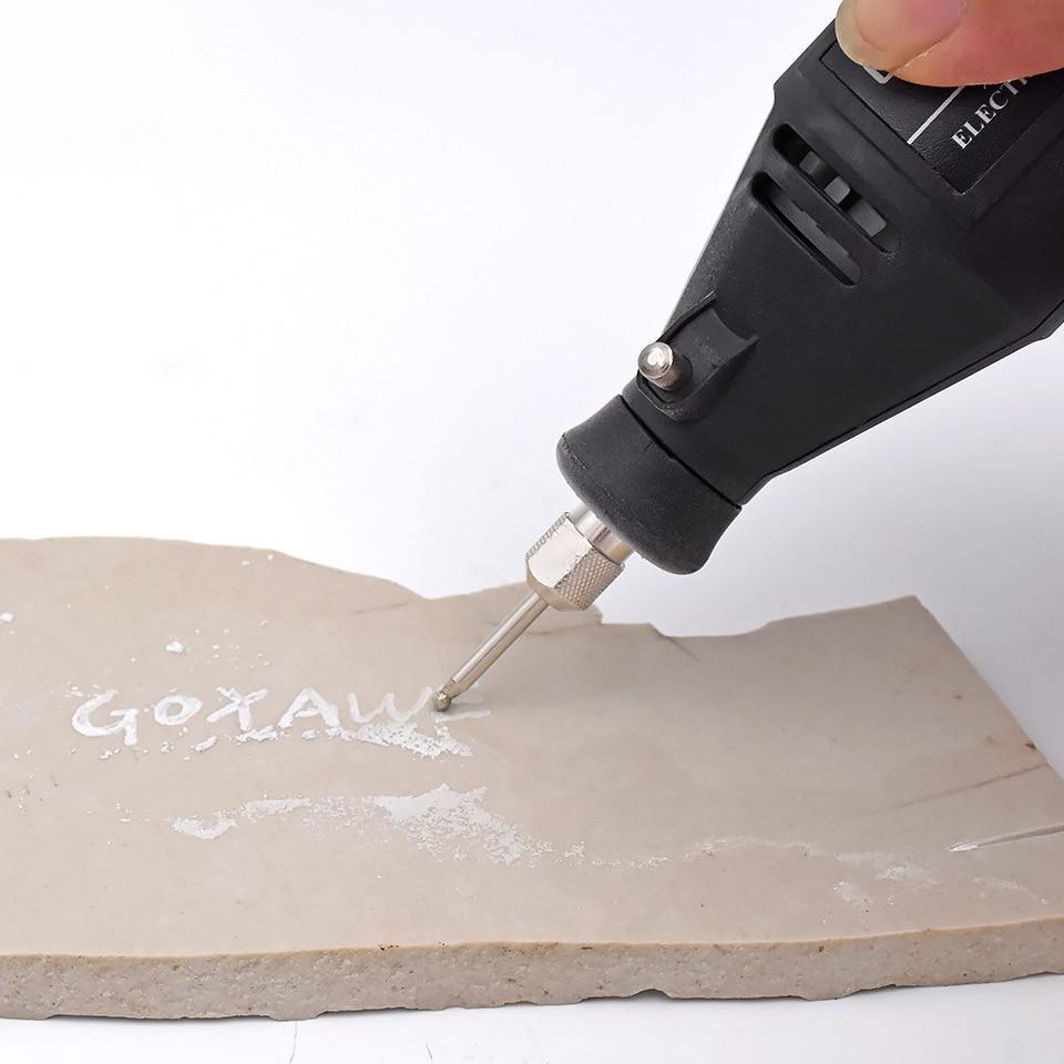20 pz diamante rettifica frese trapano elettrico strumento abrasivo - Utensili abrasivi - Fotografia 5