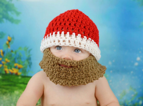 dd4506e12cd Baby Beard Beanie Hat