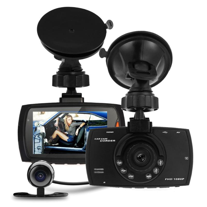 Car DVR Dual Camera Full HD 1080P 2.7