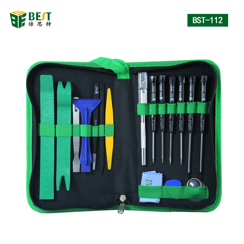 22pcs / set kit di strumenti professionali per telefoni cellulari Kit - Utensili manuali - Fotografia 1