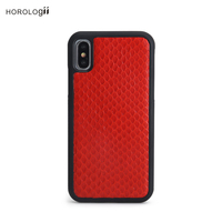 Horologii New Design personalized custom S Skin leather for Iphone X Xr Xs Max case leather dropship service
