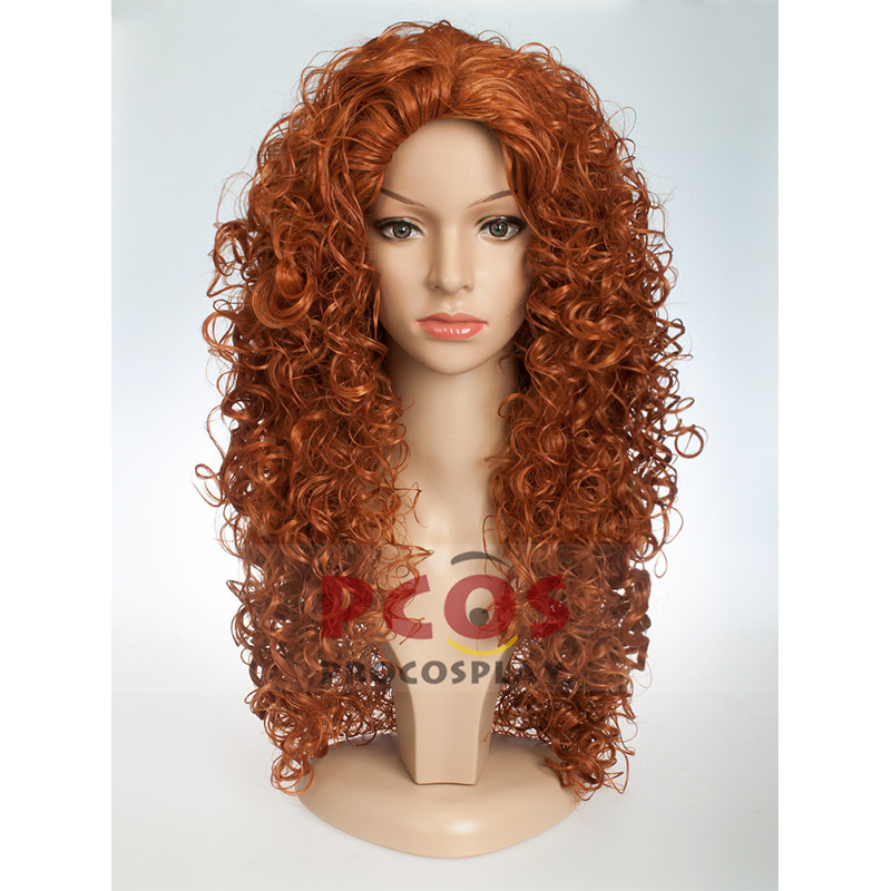 Brave debut Mei lida cosplay hairs Once Upon A Time Season 5 Merida cosplay wigs mp004081