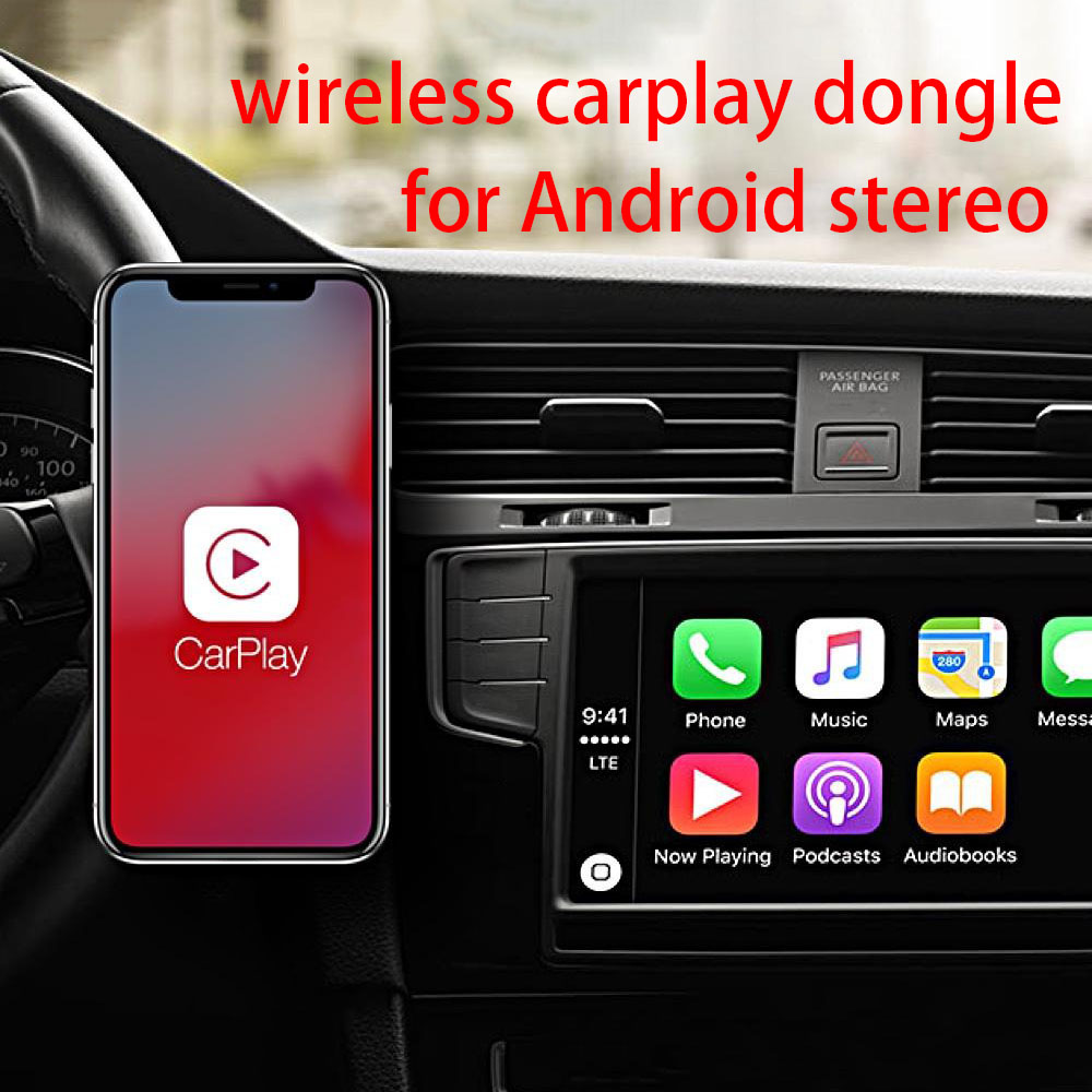 Wireless Apple CarPlay Dongle for Android Navigation radio car Player USB Carplay kit with Android Auto
