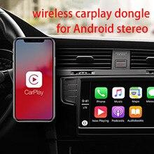 Kablosuz Apple CarPlay Dongle için Android navigasyon radyo araba oyuncu USB Carplay kit Android otomatik usb dongle carplay kiti