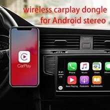 Senza Fili di Apple Carplay Dongle per Android di Navigazione Radio Auto Lettore Usb Carplay Kit con Android Auto Usb Dongle Carplay Kit