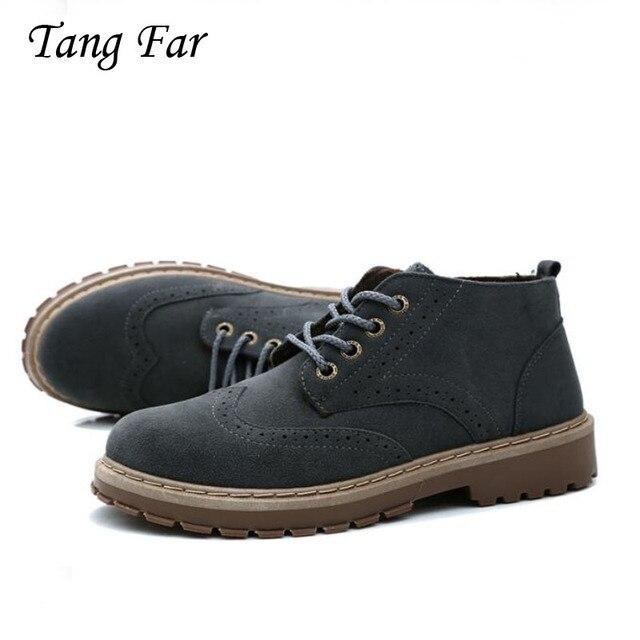 Vintage เรือรองเท้าผู้ชายพลัสขนาดชายแฟชั่นรองเท้าผ้าใบบุรุษรองเท้า Brogue อังกฤษขนาดใหญ่ Handmade Loafers ผู้ชายพิธีรองเท้า