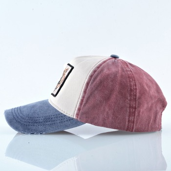 100% Cotton Baseball Caps Embroidery Tiger Dad Hat Men Women Spring Summer Outdoor Breathable Bone Fashion Unisex Animal Hats 2