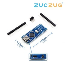 Nano Mini USB с Загрузчиком совместимый Nano 3,0 контроллер CH340 USB драйвер 16 МГц Nano v3.0 ATMEGA328P/168 P для arduino