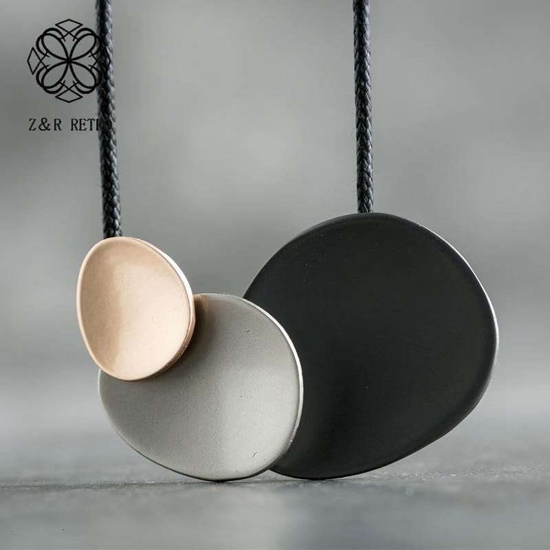 Hotsale Long collier bohème colliers femmes 2019 nouveau Vintage pendentif fait main pour les femmes cadeaux bijoux accessoires