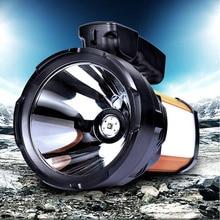 30 Вт 60 Вт Портативный фонарь Led camping открытый охота свет аккумуляторная водонепроницаемый фонарь с зарядное устройство 5000ma батареи